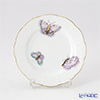 ヘレンド ロイヤルガーデン EVICTP2(パピヨン) 00512-0-00プレート 12.5cm ターコイズ