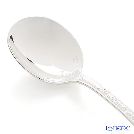 Christofle 'Jardins Eden' 0054-001 [Silver Plated] Consomme Soup Spoon 16cm