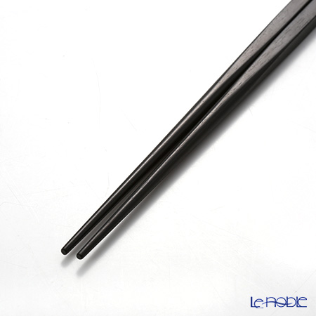 Christofle 'Jardins Eden' 4225925 [Ebony Wood & Silver Plated] Chopsticks 25cm