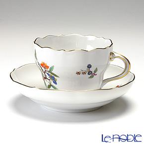 マイセン(Meissen) 中国の蝶 393110/00582コーヒーカップ&ソーサー 200cc