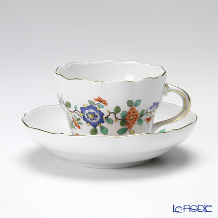 マイセン(Meissen) インドの花と鳥 396110/00582コーヒーカップ&ソーサー 200cc
