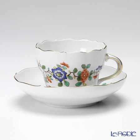 マイセン(Meissen) インドの花と鳥 396110/00582 コーヒーカップ&ソーサー 200cc