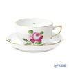 Herend 'Rose and Bud' RB 00724-0-00 Tea Cup & Saucer 200ml