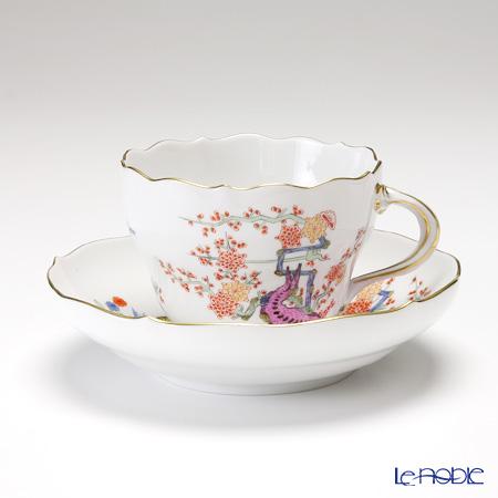 マイセン(Meissen) 色絵黄獅子文 401110/00582 コーヒーカップ&ソーサー 200cc