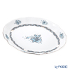 Herend 'Chinese Bouquet Turquoise Platinum / Apponyi' ATQ3-PT 00211-0-00 Oval Dish 26.5x21.5cm