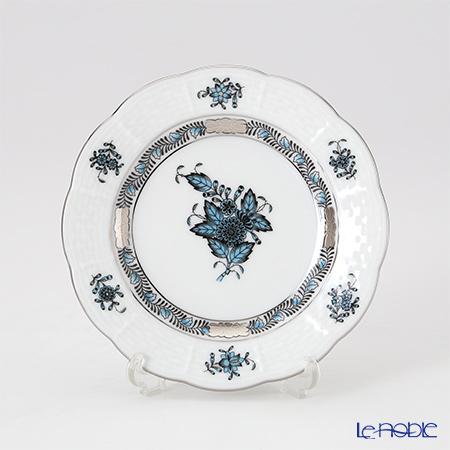 ヘレンド アポニーターコイズプラチナ プレート 12.5cm 00512-0-00