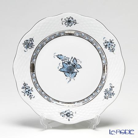 ヘレンド アポニーターコイズプラチナ 00517-0-00 プレート 19cm