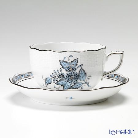 ヘレンド アポニーターコイズプラチナ 00724-0-00 ティーカップ&ソーサー 200cc