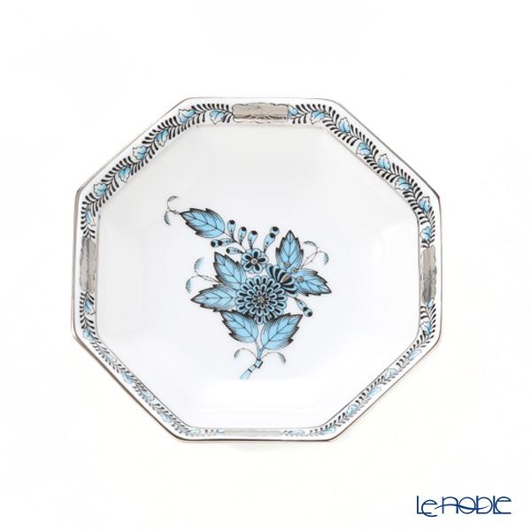 ヘレンド アポニーターコイズプラチナ ATQ3-PT 04307-1-00 小皿/豆皿(オクタゴナル) 11cm