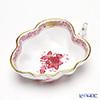 Herend 'Chinese Bouquet Mauve Pink / Apponyi' AP2 00492-0-00 Sugar Bowl (Leaf shape) 10.5cm