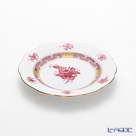 Herend 'Chinese Bouquet Mauve Pink / Apponyi' AP2 00512-0-00 Plate 12.5cm