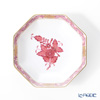 Herend Apponyi / Chinese Bouquet 04307-1-00 Mauve Pink Small Octagonal Plate 10.5cm