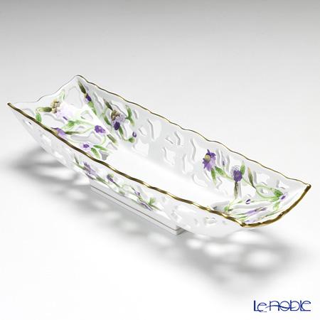 ヘレンド C4 07349-0-00長方形皿 31×10cm フルオープン