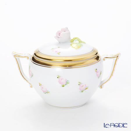 ヘレンド 朝露の小薔薇 PTRA 20472-0-09 シュガーポット(ローズ) 200cc