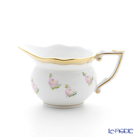 ヘレンド 朝露の小薔薇 PTRA 20645-0-00クリーマー 80cc