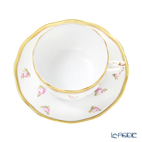 ヘレンド 朝露の小薔薇 PTRA 20724-0-00ティーカップ&ソーサー 200cc