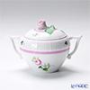 ヘレンド ウィーンのバラ ピンク 00472-0-09シュガーポット(ローズ) 200cc