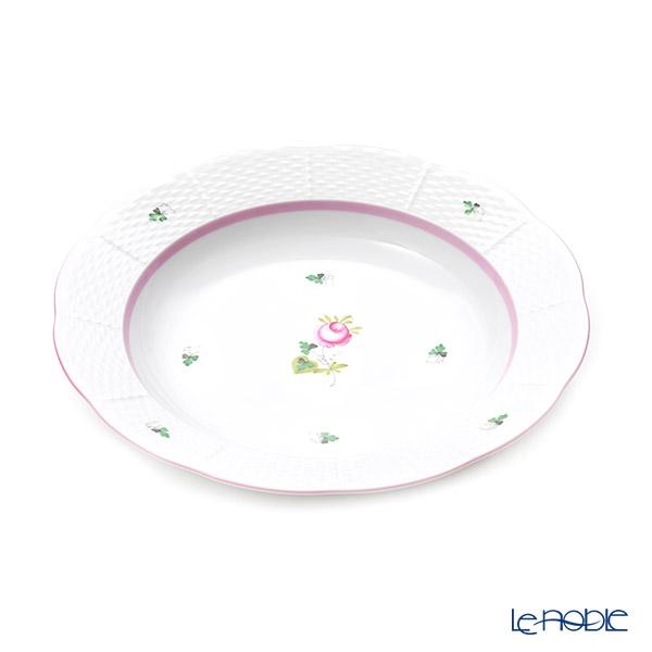 ヘレンド ウィーンのバラ ピンク スーププレート 23cm 00503-0-00