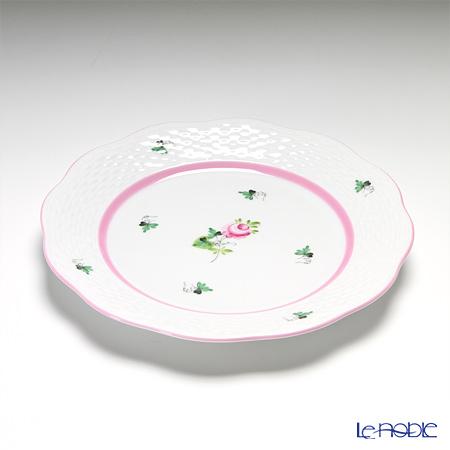 ヘレンド ウィーンのバラ ピンク 00517プレート 19cm