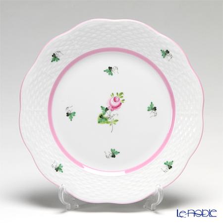 ヘレンド ウィーンのバラ ピンク 00517 プレート 19cm
