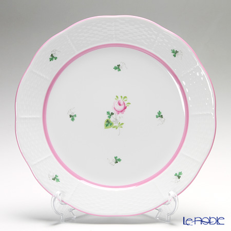Herend 'Vienna Rose Pink / Vieille Rose de Herend' VRH-X4 00524-0-00 Meat Plate 25cm