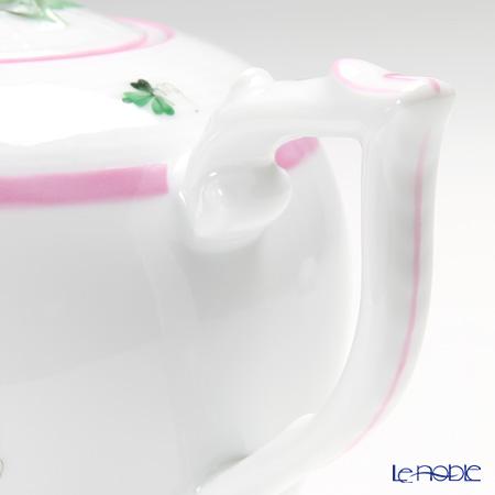 ヘレンド ウィーンのバラ ピンク 00606-6-09ティーポット(ローズ) 800cc