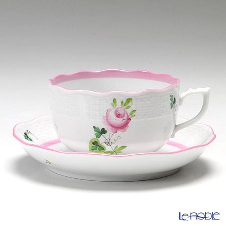 ヘレンド ウィーンのバラ ピンク 00724-0-00 ティーカップ&ソーサー 200cc