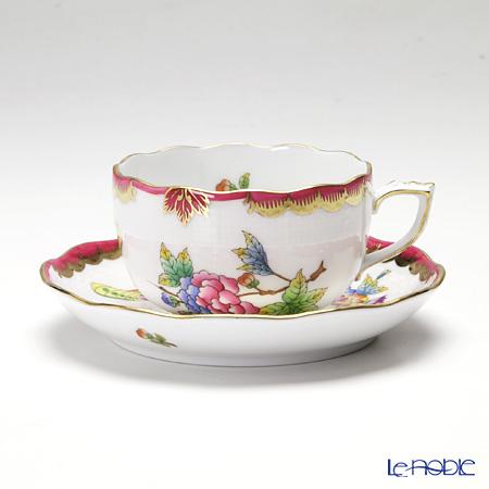 ヘレンド VBO-Y4 00724-0-00 ティーカップ&ソーサー 200cc ピンク