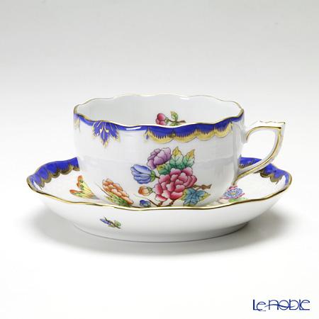 ヘレンド VBO-Y3 00724-0-00ティーカップ&ソーサー 200cc ブルー