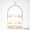 Create 'Heart top' Gold Decor LZ8409 2 Tier Cake Stand H46.5cm