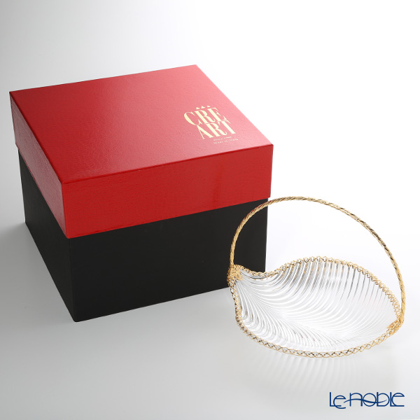 Create basket with gold handle CS11449 MAMBO Gallery