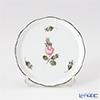 ヘレンド ウィーンのバラ プラチナ 00341-0-00コースター 10cm