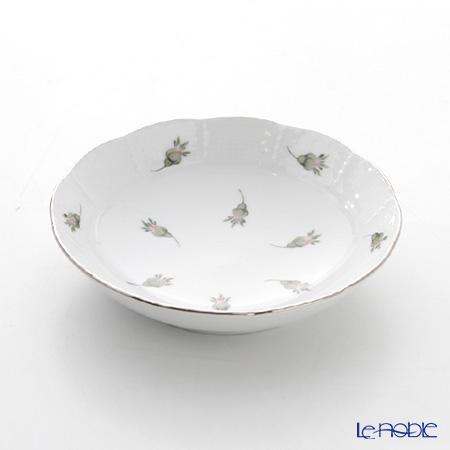 ヘレンド ウィーンのバラ プラチナ 00704-1-00 フルーツボウル 13.5cm