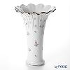 Herend Vienna Rose Platinum / Vieille Rose de Herend Platinum Vase H37 cm VR-PT 06655-0-00