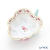Herend Rose Garland RGS 00492-0-00 Sugar Bowl (Leaf shape) 10.5cm