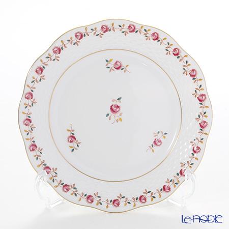 ヘレンド 薔薇の花飾り RGS 00517-0-00 プレート 19cm