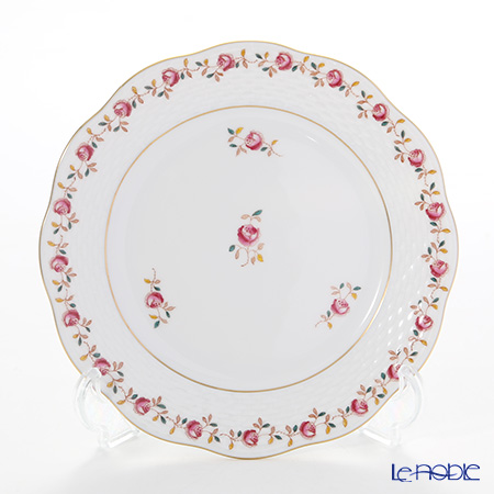 Herend 'Rose Garland' Pink RGS 00517-0-00 Plate 19cm