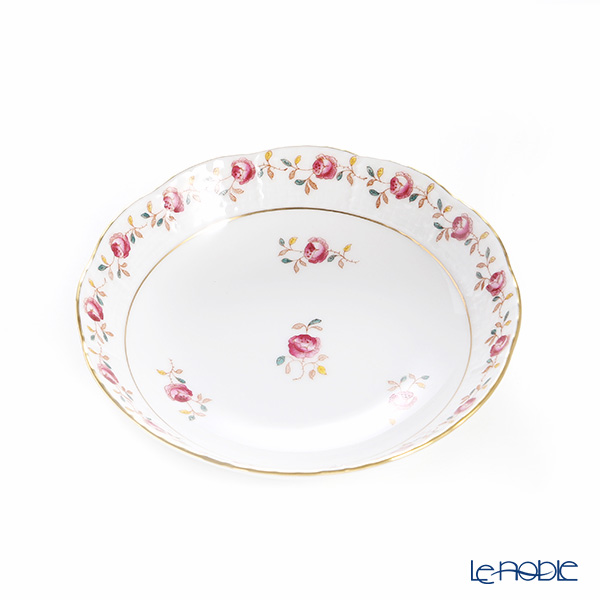 Herend Rose Garland RGS 00704-1-00 Fruit Bowl 13.5cm