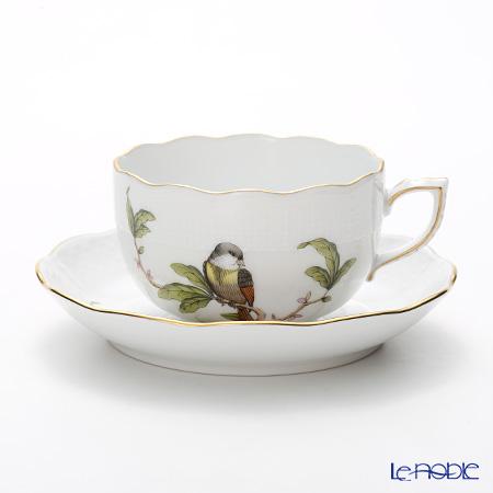 ヘレンド フォレ(鳥) FORET-1 00724-0-00 ティーカップ&ソーサー 200cc