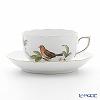 ヘレンド フォレ(鳥) FORET-2 00724-0-00ティーカップ&ソーサー 200cc
