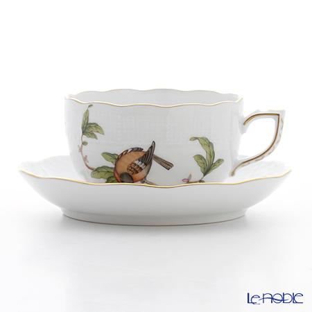 ヘレンド フォレ(鳥) FORET-4 00724-0-00 ティーカップ&ソーサー 200cc