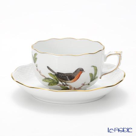 ヘレンド フォレ(鳥) FORET-5 00724-0-00 ティーカップ&ソーサー 200cc