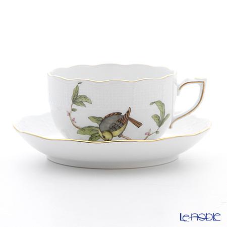 ヘレンド フォレ(鳥) FORET-6 00724-0-00 ティーカップ&ソーサー 200cc
