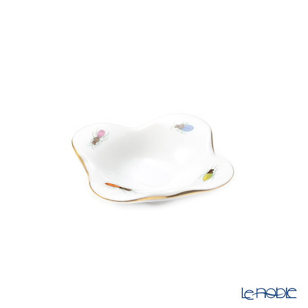 Herend 'Insects - Gold line' PH-17 07672-0-00 Mini Tray (Flower shape)