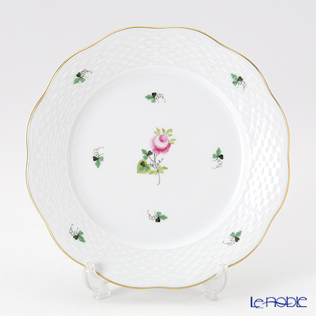 Herend 'Vienna Rose Simple / Vieille Rose de Herend' VRHS 00517-0-00 Dessert Plate 19cm
