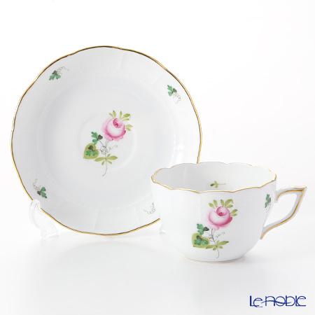ヘレンド ウィーンのバラ シンプル 00730/706ティーカップ&ソーサー(兼用) 200cc