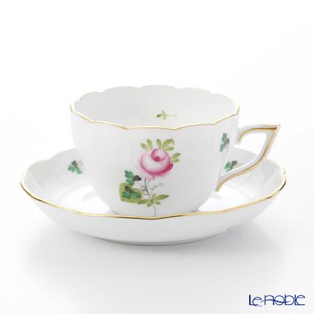 ヘレンド ウィーンのバラ シンプル 00730/706 ティーカップ&ソーサー(兼用) 200cc