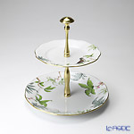 Herend 'Foret (Bird)' GY2 00308-0-92 2-tier Cake Stand H27cm