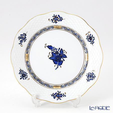 ヘレンド アポニーロイヤルブルー 00517-0-00 プレート 19cm
