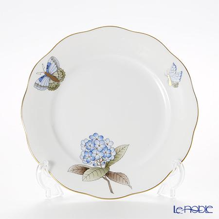 ヘレンド ヴィクトリア・グランデ VICTMC9 20517-0-00 プレート 19cm ブルー(アジサイ)